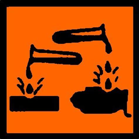 techniques de cuisine substances dangereuses substances corrosives