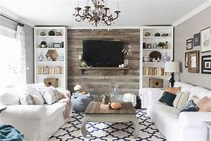 Hide That TV! Ideas for a DIY Accent Wall That Includes a