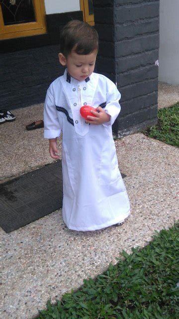 jual beli baju muslim koko anak gamis arab pria laki 1
