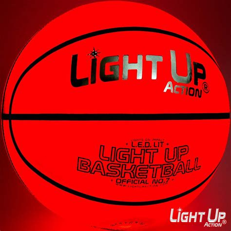 Light Up Basketball by Light Up Basketball Silver Edition