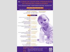 XX Curso de atención permanente en pediatría ambulatoria
