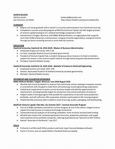 Sample Resumes For Entry Level Venture Capital Entry Level Resume Samples Templates