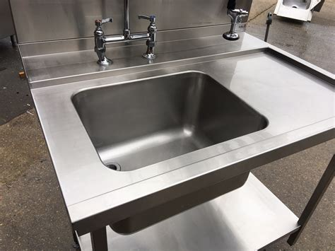 Stainless Steel Dishwasher Sink   Used Rational Catering