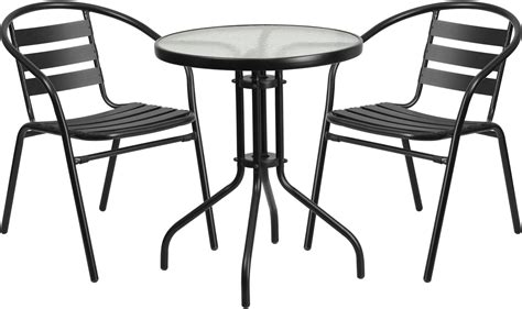 netted glass table l 23 75 quot glass metal table with 2 black metal aluminum 3469