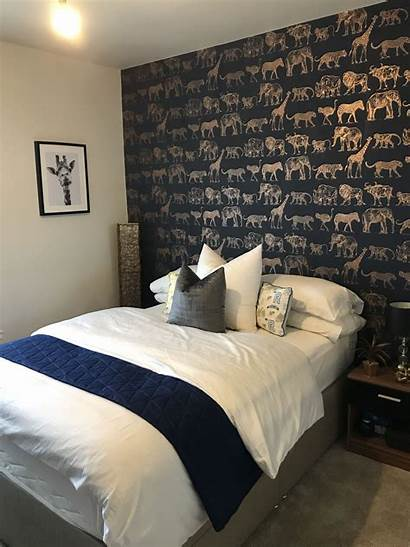 Bedroom Safari Navy Budget Themed Amazing African
