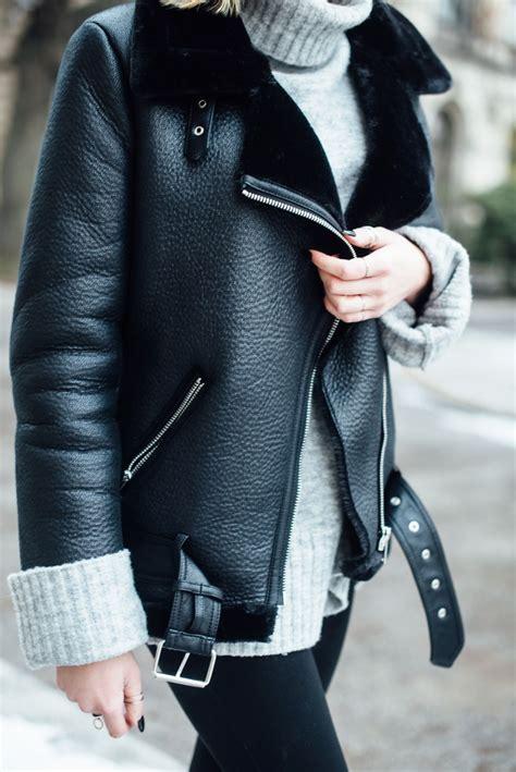 reflektoren für jacken it der saison zara shearling jacke l 228 ssig gestylt kiamisu fashion trends