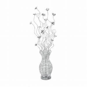 Lampadaire Design Pas Cher : lampadaire aluminium chrome bella led 5x 20w boutica design achat vente lampadaire pas cher ~ Teatrodelosmanantiales.com Idées de Décoration