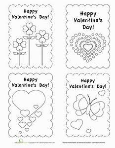 Homemade Valentine's Day Cards | Worksheet | Education.com