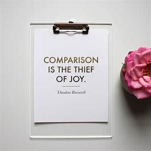 Comparison- The Thief of Joy – Create In Me Wellness