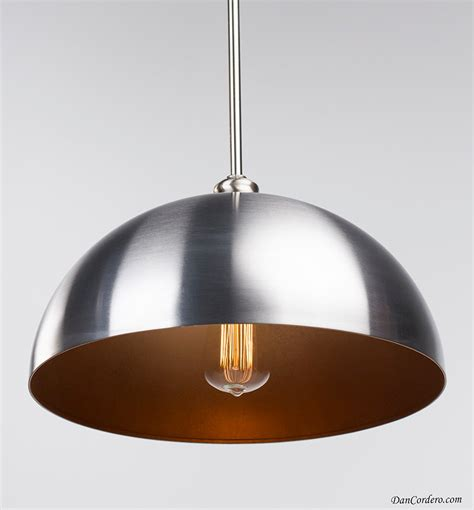 copper brushed nickel edison pendant light fixture