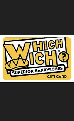 foto de $50 WHICH WICH GIFT CARD 54% OFF Email/Physcial Delivery