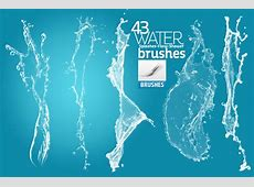 Water Brush Photoshop Template Business