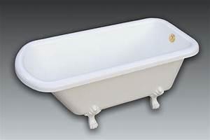 Baignoire Patte De Lion : baignoire r tro sur pattes de lion clarisse 160x80cm ~ Melissatoandfro.com Idées de Décoration
