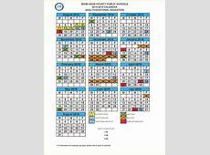 Miami Dade Schools Calendar 2018 2019 2018 Calendar Template