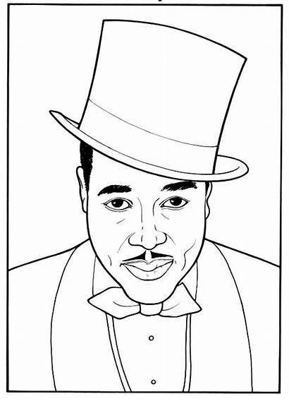 Coloring History Pages Duke Month Printable Ellington
