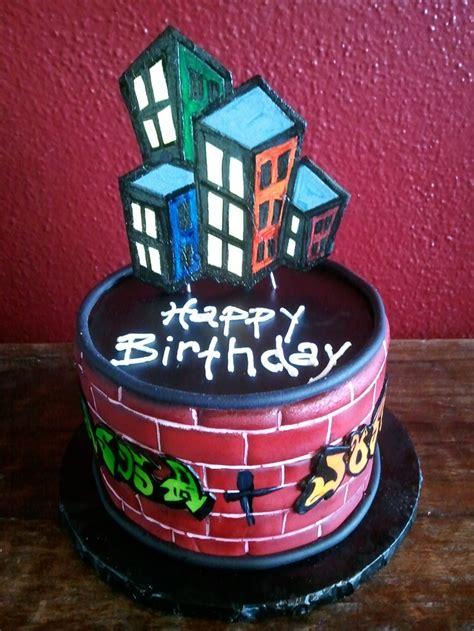 graffiti birthday cake hip hop birthday cake diy