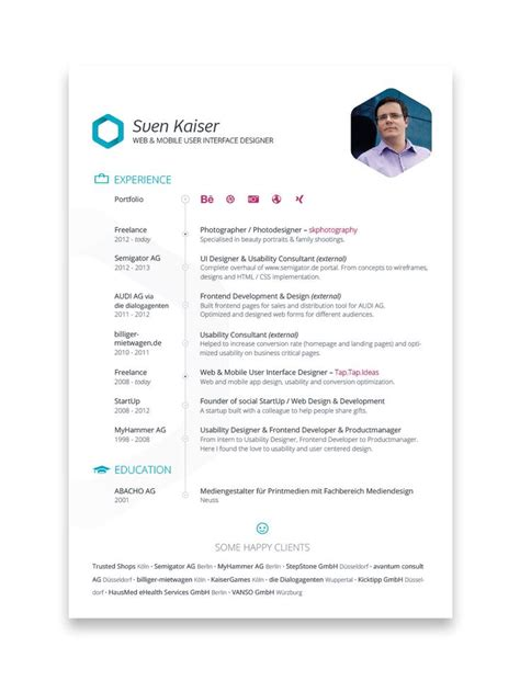 Best Ux Design Resumes by 8 Best Images About Ux Designer Resume On Behance Editor And Resume Design