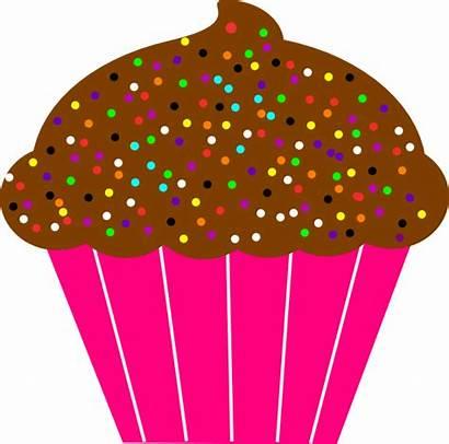 Cupcake Cupcakes Printable Clipart Clip Dibujo Birthday