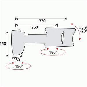 Petite Tv Ecran Plat : support mural cran plat de petite taille 2 axes de rotation bricozor bricozor ~ Nature-et-papiers.com Idées de Décoration