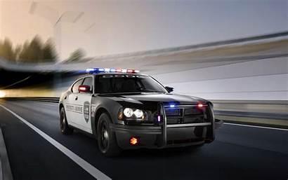 Police Charger Dodge Pursuit Muscle Desktop Cop