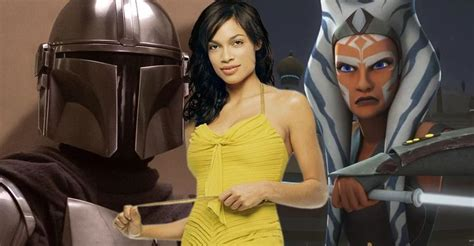 The Mandalorian Season 2 Casts Rosario Dawson As Ahsoka ...