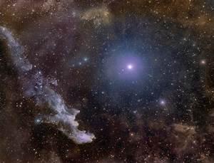 APOD: 2012 November 01 - Rigel and the Witch Head Nebula
