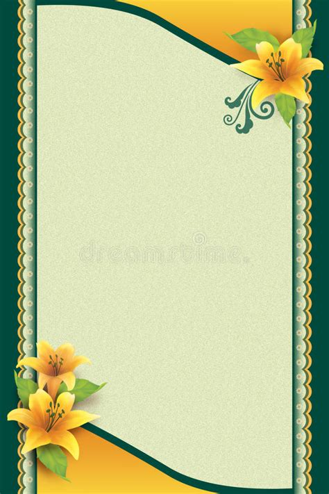 greeting card  flower  ornamental background stock