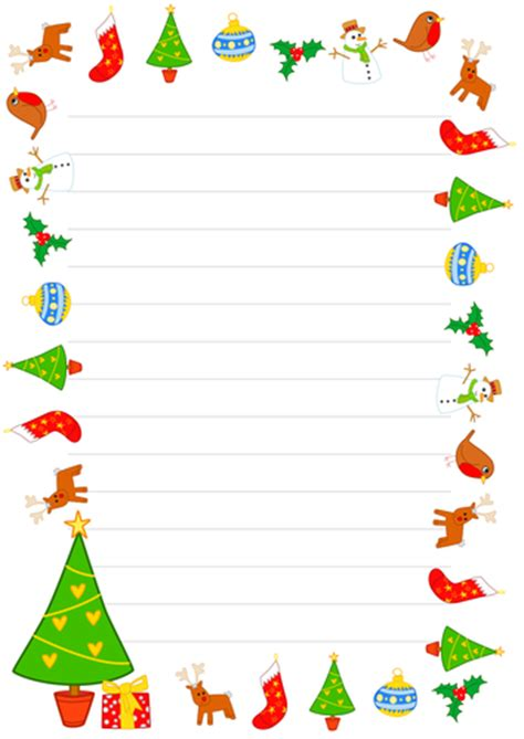 christmas writing borders borders by grolta teaching resources tes