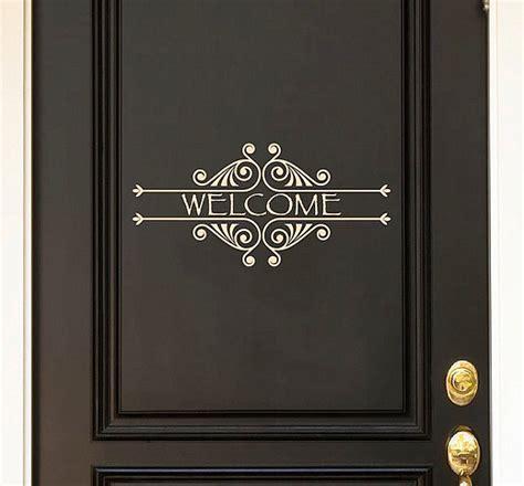door decals give life   home design