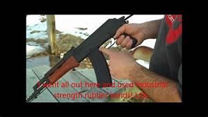 AK-47/AK-74-Rubber Band Trigger Trick-Rapid Fire! - YouTube