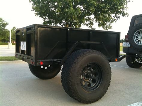 jeep utility trailer flick 39 s offroad utility trailer build jkowners com