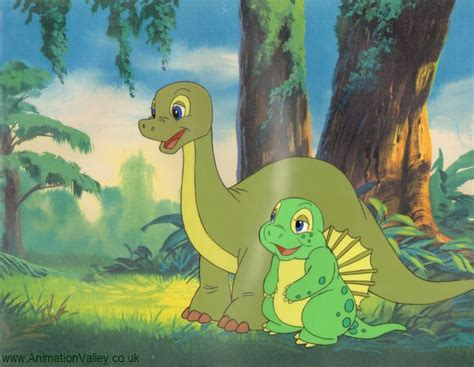 Dink The Dinosaur Cel By Animationvalley.deviantart.com On