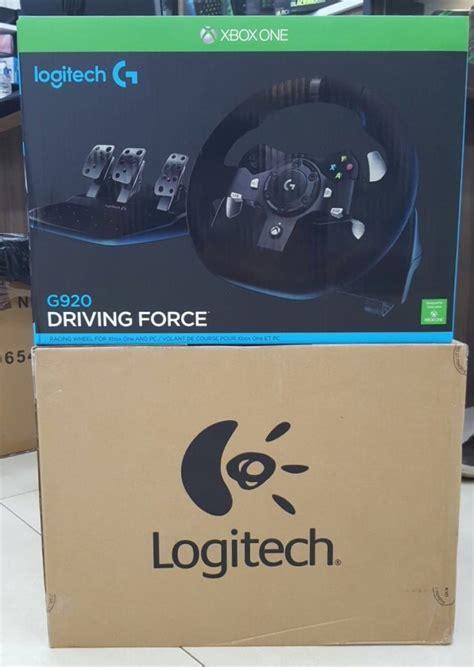 Volante Logitech Xbox 360 Volante Logitech G920 Driving Xbox One E Pc Novo