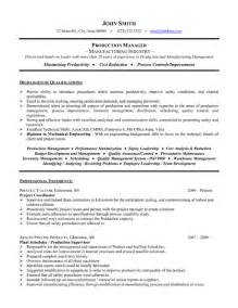 project manager resume exles pdf project manager resume template premium resume sles exle