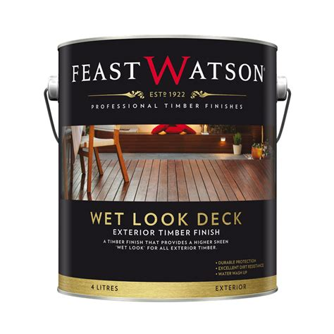 feast watson  wet  decking finish bunnings warehouse