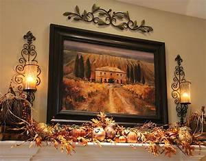 Wall decor fireplace mantle serving as a fancy shelf for