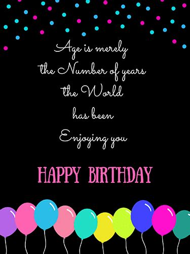 age    number  years  happy birthday ecards