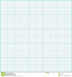 vector graph paper blue millimeter paper background stock vector image