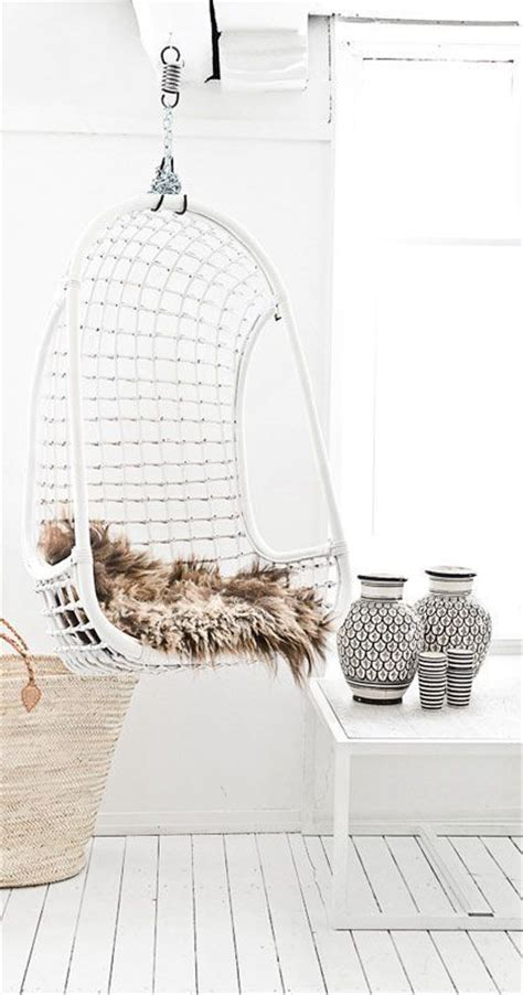 hanging wicker chairs   vacation vibe shelterness