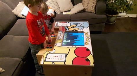 Diy Arcade Cabinet Raspberry Pi by A Diy Arcade Table Powered By Raspberry Pi The