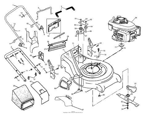 husqvarna  rsa    parts diagram