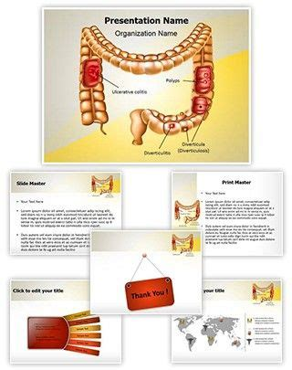 cancer cell cover template 8 best digestive system powerpoint templates images on