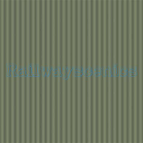 corrugated pale green industrial siding texture sheet