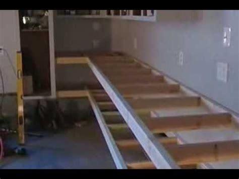 garage makeover building custom workbenches