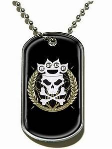 Five Finger Death Punch Knuckle Crown Dog Tag - Buy Online ...