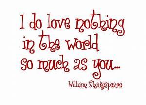 Shakespeare Love Quotes. QuotesGram