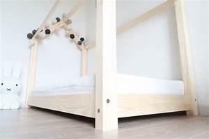 Lit Maison Bois : le fameux lit maison en bois pas cher club mamans ~ Premium-room.com Idées de Décoration