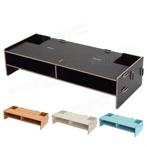 mensola per pc home office scrivania pc computer monitor lcd porta tv