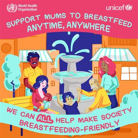 Who Breastfeeding Infographics