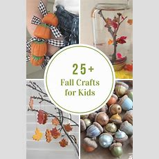 Fall Crafts For Kids  The Idea Room